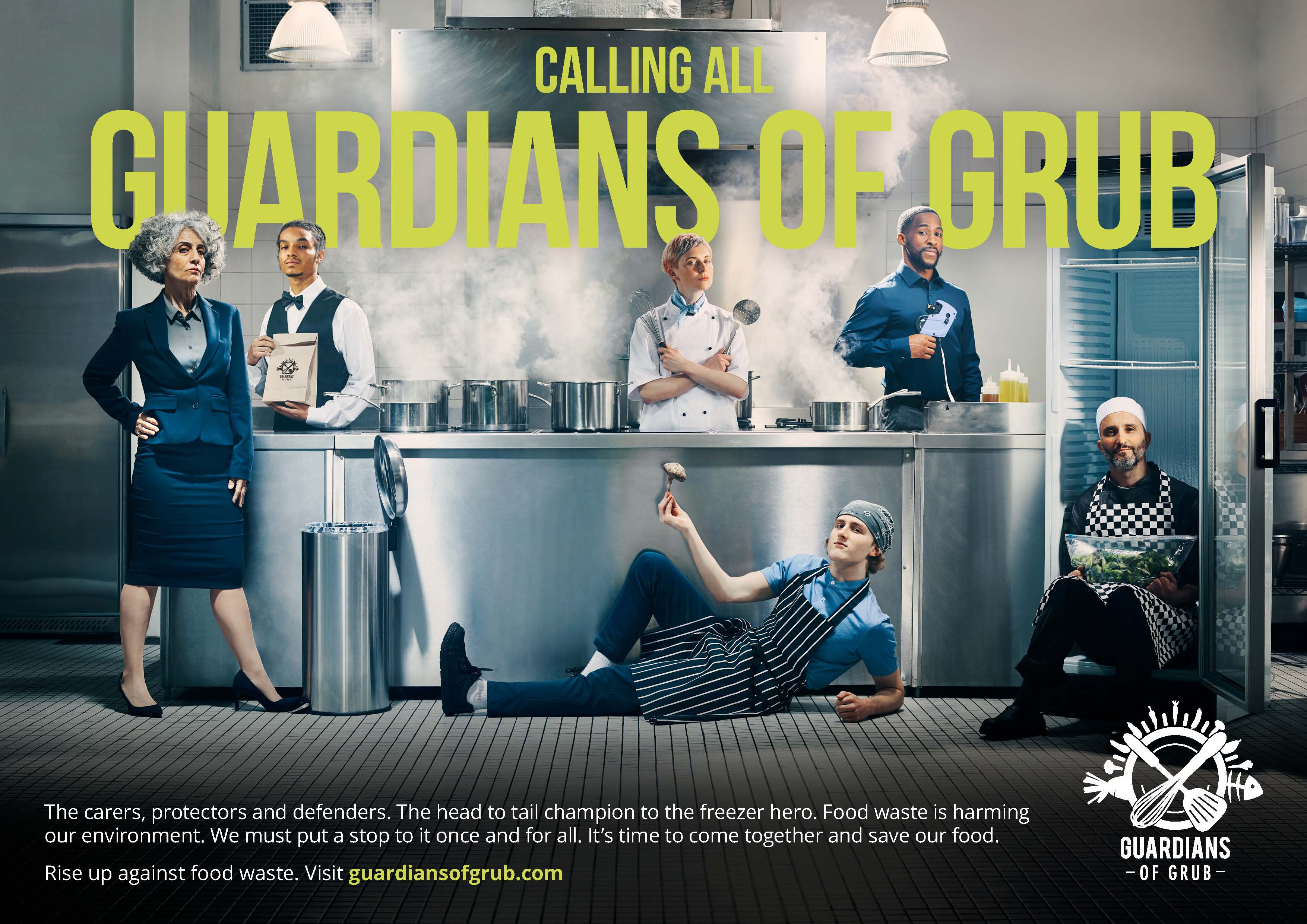 Rise up and join the Guardians of Grub