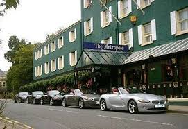 Wales Conference at Hotel Metropole, if we didn't come by train, our cars were round the back in the carpark!