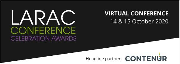 LARAC Virtual Conference, Exhibition and Awards 2020