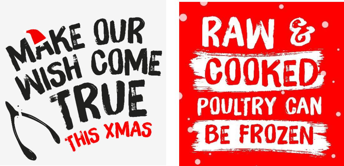 Christmas food tips