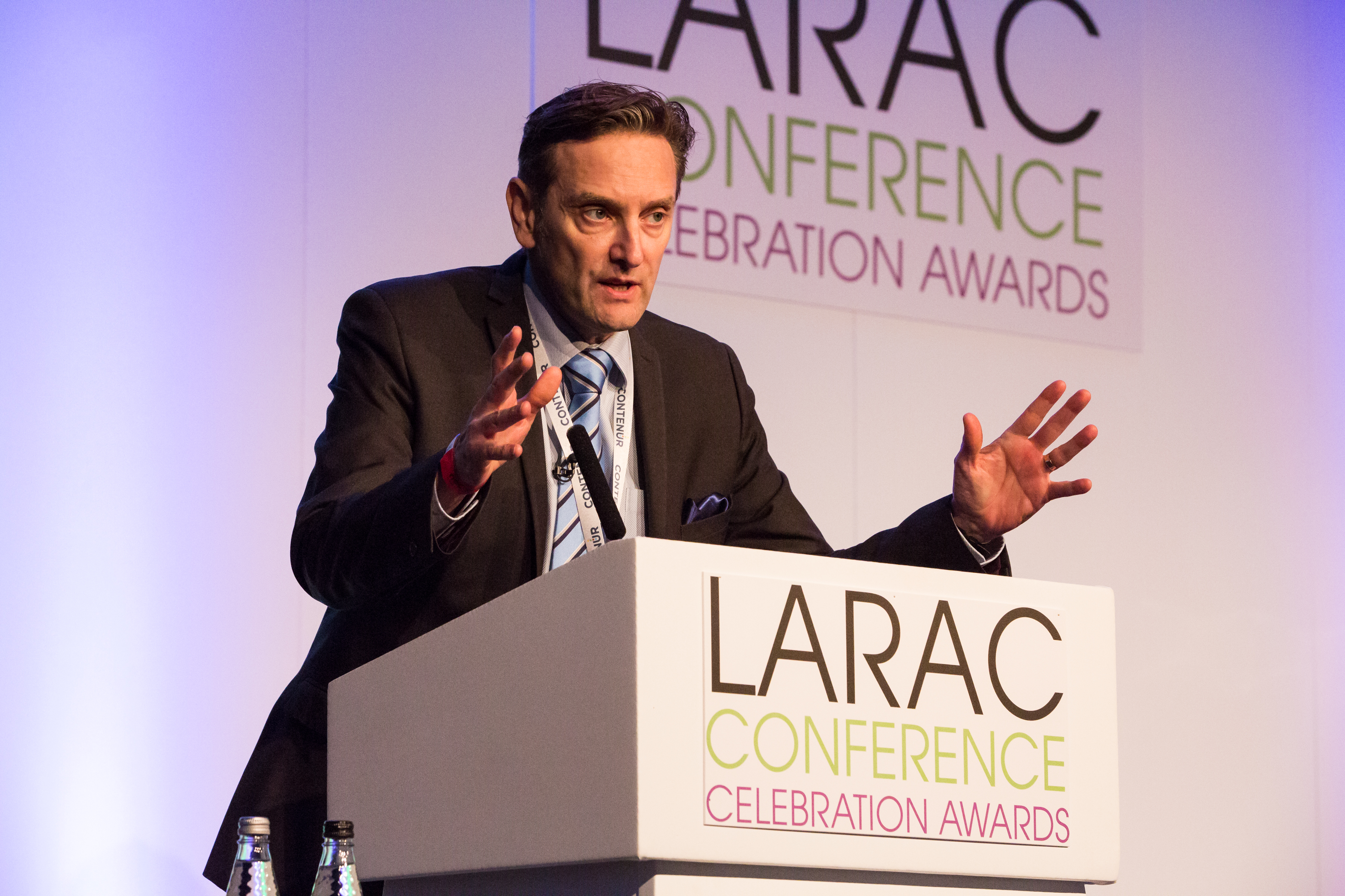 Chris Preston, Defra, at the LARAC Conference