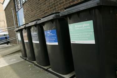 Bin colours not a priority