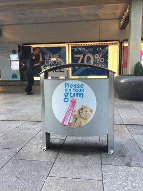 Free Anti Gum Litter Campaign