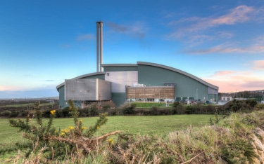 Cornwall Energy Recovery Centre is one project supported by the PFI programme