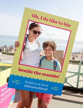 #StreetsAhead thinking outside the box to change behaviours