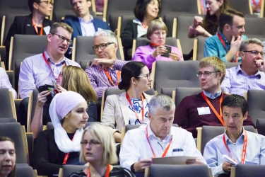 A packed LARAC2017 programme for a packed hall