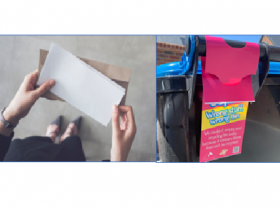 Maybe you need to get a resident's attention by having hangtags or with adhesive stickers on their bins?