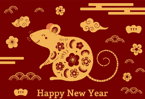 2020 is the Year of the Rat - representing great intelligence and wealth buidling