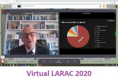 Virtual LARAC 2020 - Keynote Speaker Richard Thompson OBE, Plymouth University