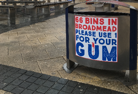 A New Gum Litter Campaign Toolkit